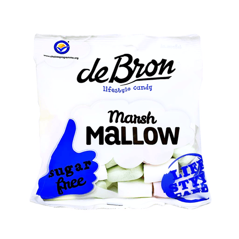de Bron - Sugar Free Marshmallows 100g - Sweet Victory Products Ltd