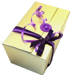 Sugar free pick and mix sweet gold ballotin gift box - Sweet Victory Products Ltd