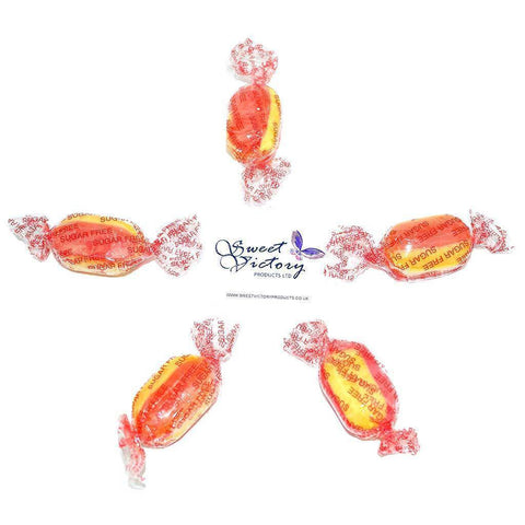 Sugar Free Rhubarb And Custard Sweets 100g - Sweet Victory Products