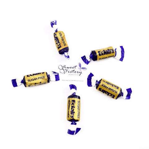 Sugar Free Sweets Chocolate Eclairs Stockley's 100g - Sweet Victory Products Ltd