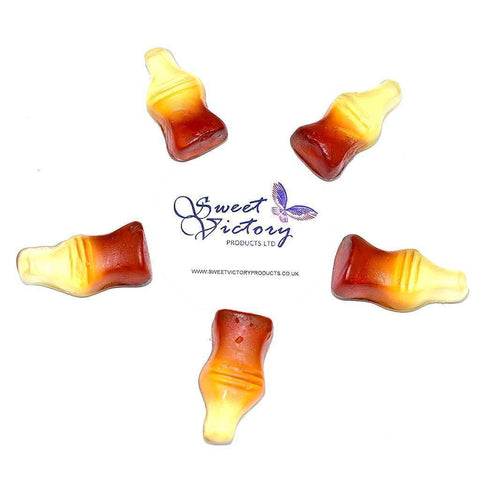 Sugar Free Sweets Jelly/Gummy Cola Bottles 100g - Sweet Victory Products Ltd