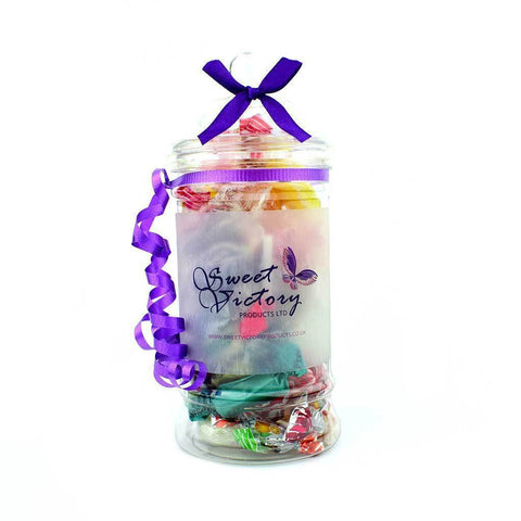 Sugar Free Sweets Pick and Mix Victorian Jar - Sweet Victory Products Ltd