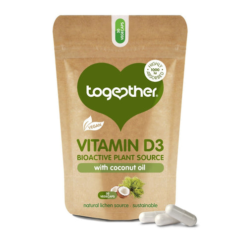 together health vitamin d3 with coconut oil