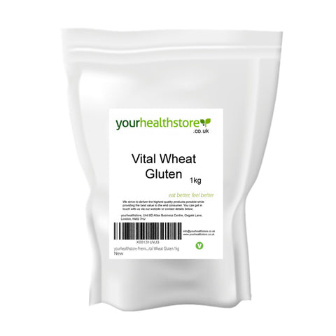 Your Health Store Vital Wheat Gluten Flour 1kg - Sweet Victory Products Ltd