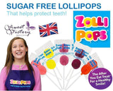 Zollipops Sugar Free Tooth Kind Lollipops X25