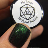 No Peace Without Justice • Charity Polish