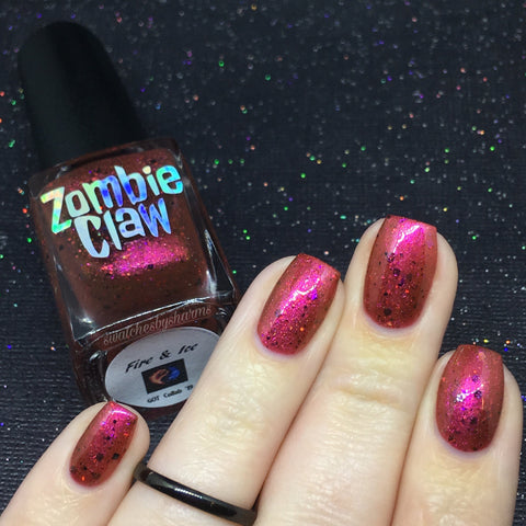 Fire & Ice • Polish by Zombie Claw