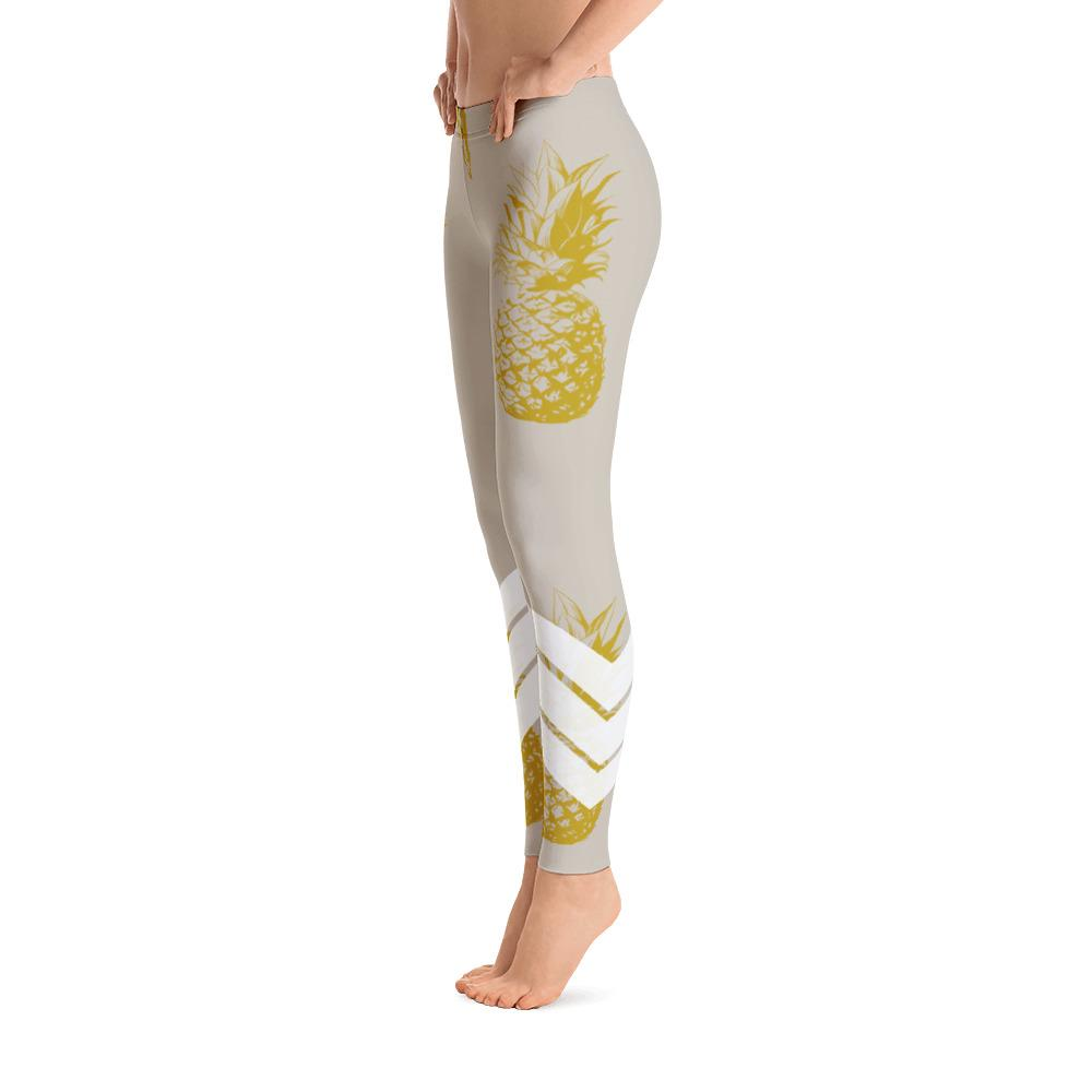 Amazing Pineapple Leggings - #girlboss yoga