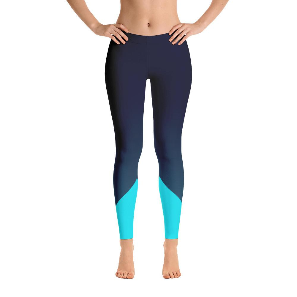 Women's All Day Comfort Full Length Leggings Teal Emprise