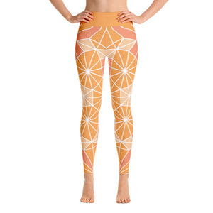 Yoga Leggings – Floral Frenzy
