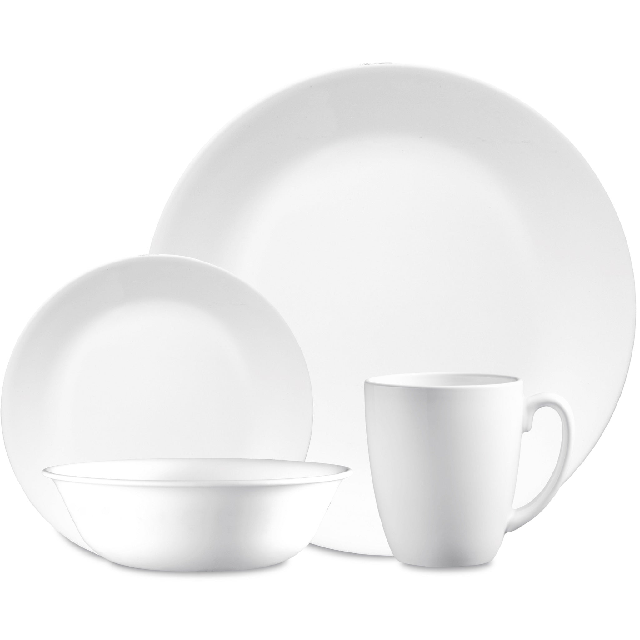 Corelle Classic Winter Frost White 16 Piece Set-6022003