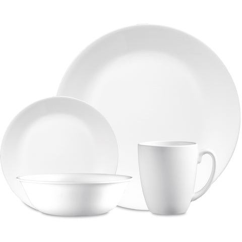 Corelle Winter Frost White 16 Piece Set-6022003