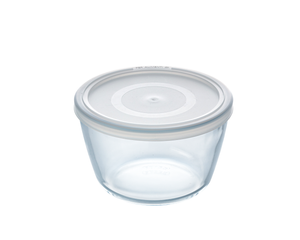 Pyrex Cook & Freeze Storage 1.1L Round with Clear Lid-1137550