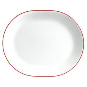 Corelle Classic Red Band 31cm Serving Platter-1128750