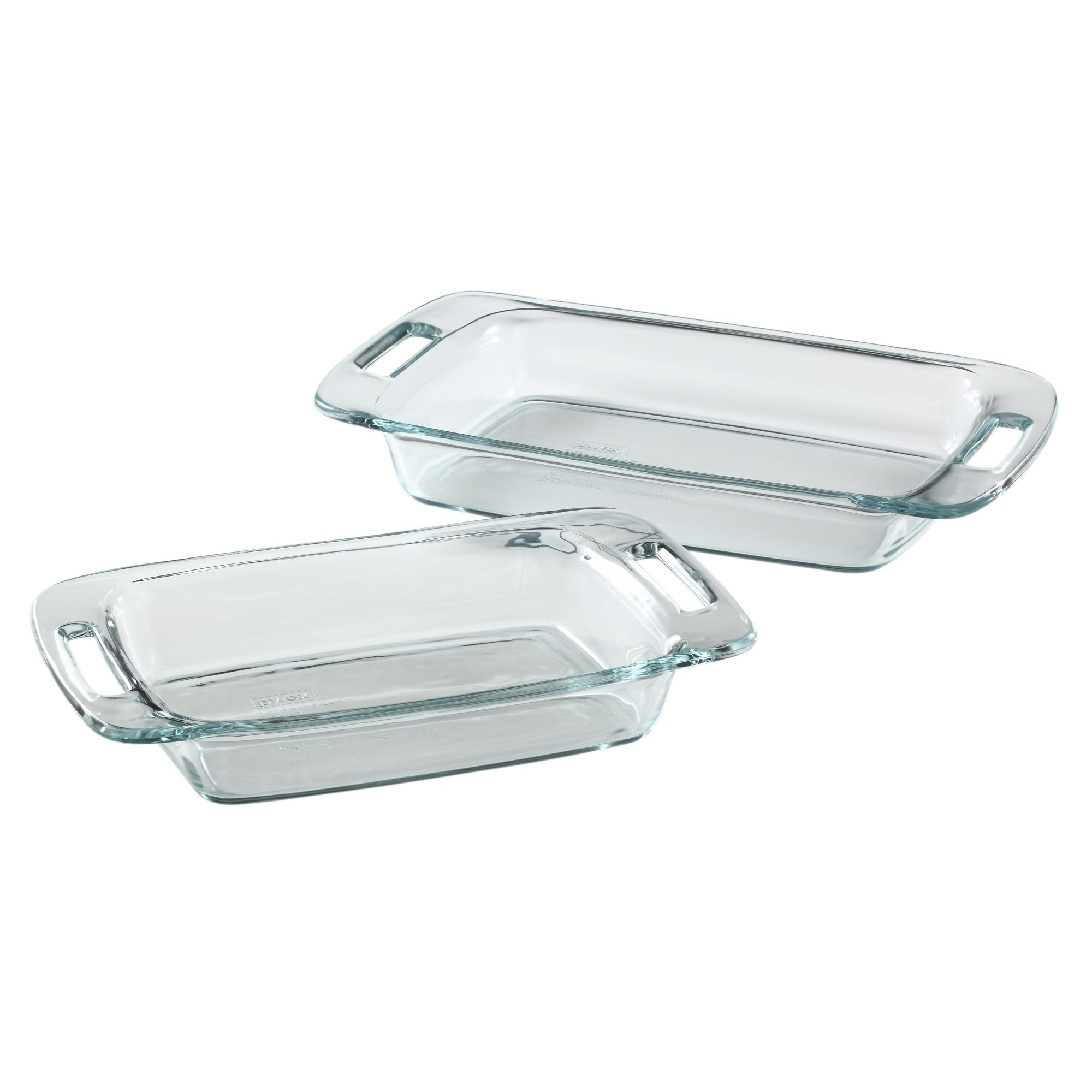 Pyrex GBW Easy Grab 1.9L & 2.85L Oblong Baking Dish-1085807