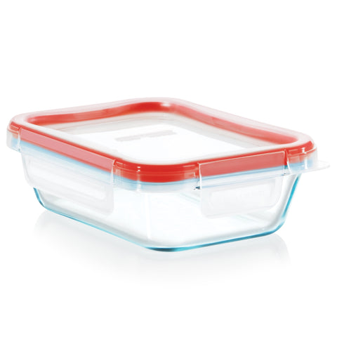 Pyrex Storage Fresh Lock 2 Cup Rectangle with 4 Latch Lid-1133099