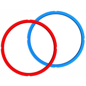 Instant Pot Accessories-5.7L Silicone Sealing Ring (Red&Blue)-2 Pack-211-0005-01