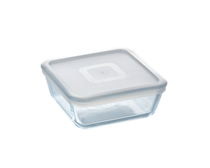 Pyrex Cook & Freeze Storage 850mL Square with Clear Lid-1137642