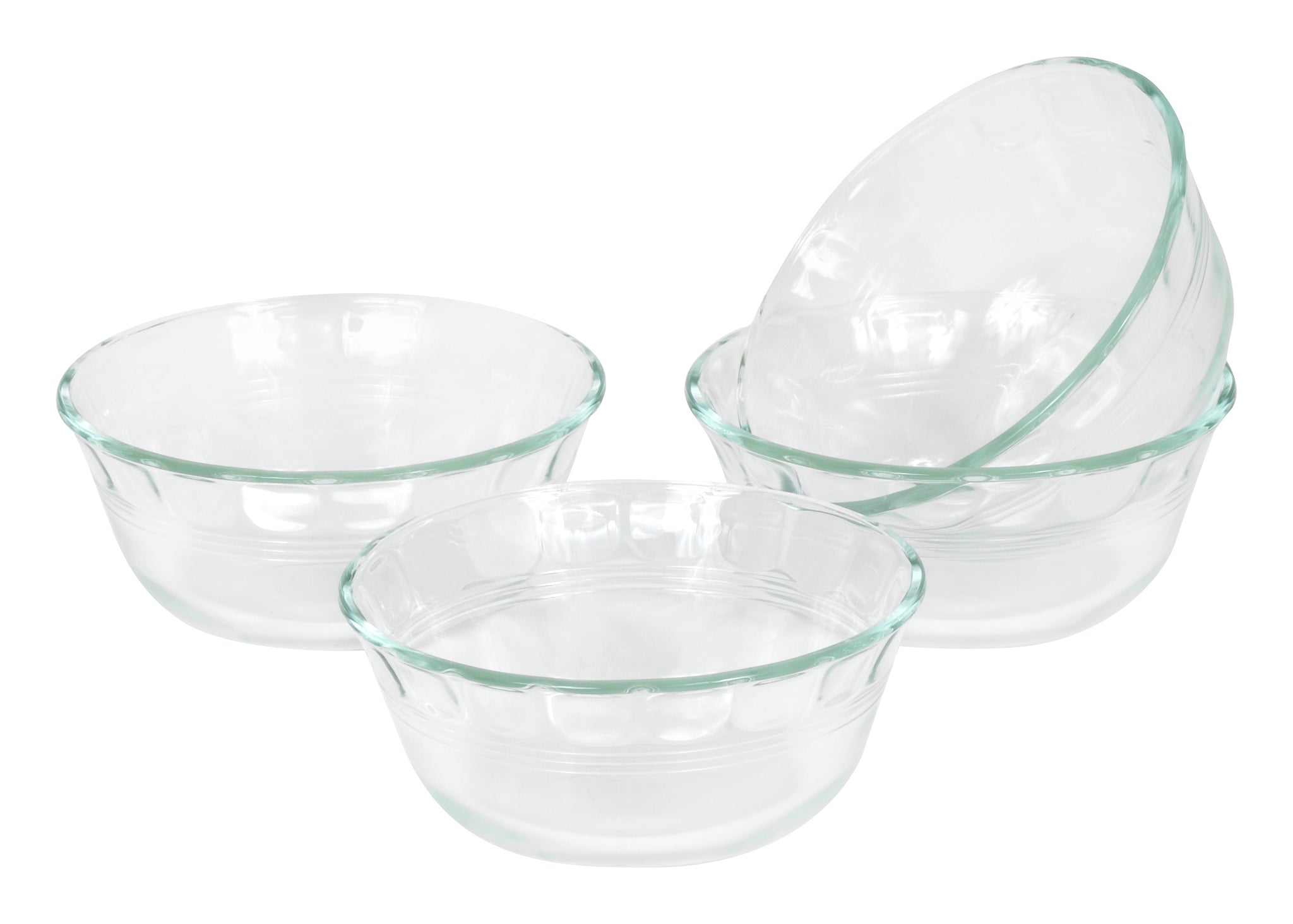Pyrex Originals 295mL Prepware Cups-4 Pack-6001143