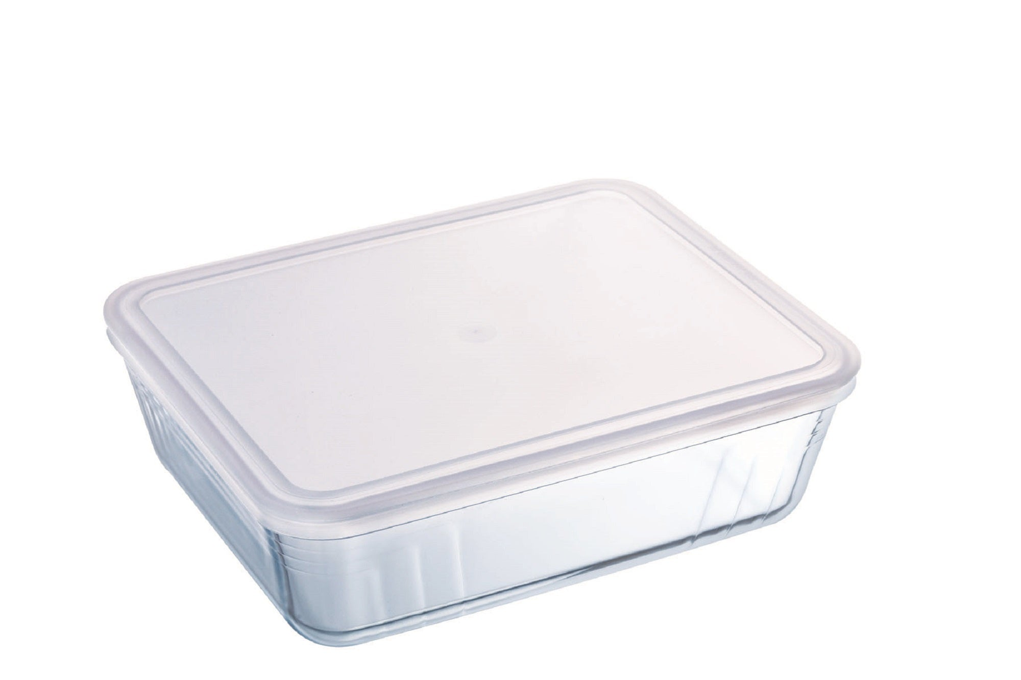 Pyrex Cook & Freeze Storage 4L Rectangle with Clear Lid-1137547