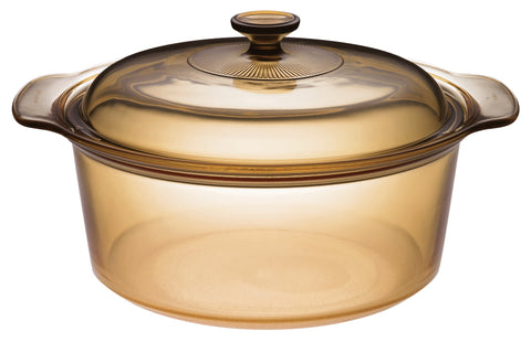 Visions 5L Glass Covered Dutch Oven-VSD-5/CL