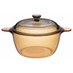 Visions 3.5L Glass Covered Stockpot-VSD-3.5/CL