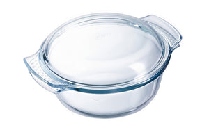 Pyrex Classic Round Glass Covered Casserole 3.5L-1030224