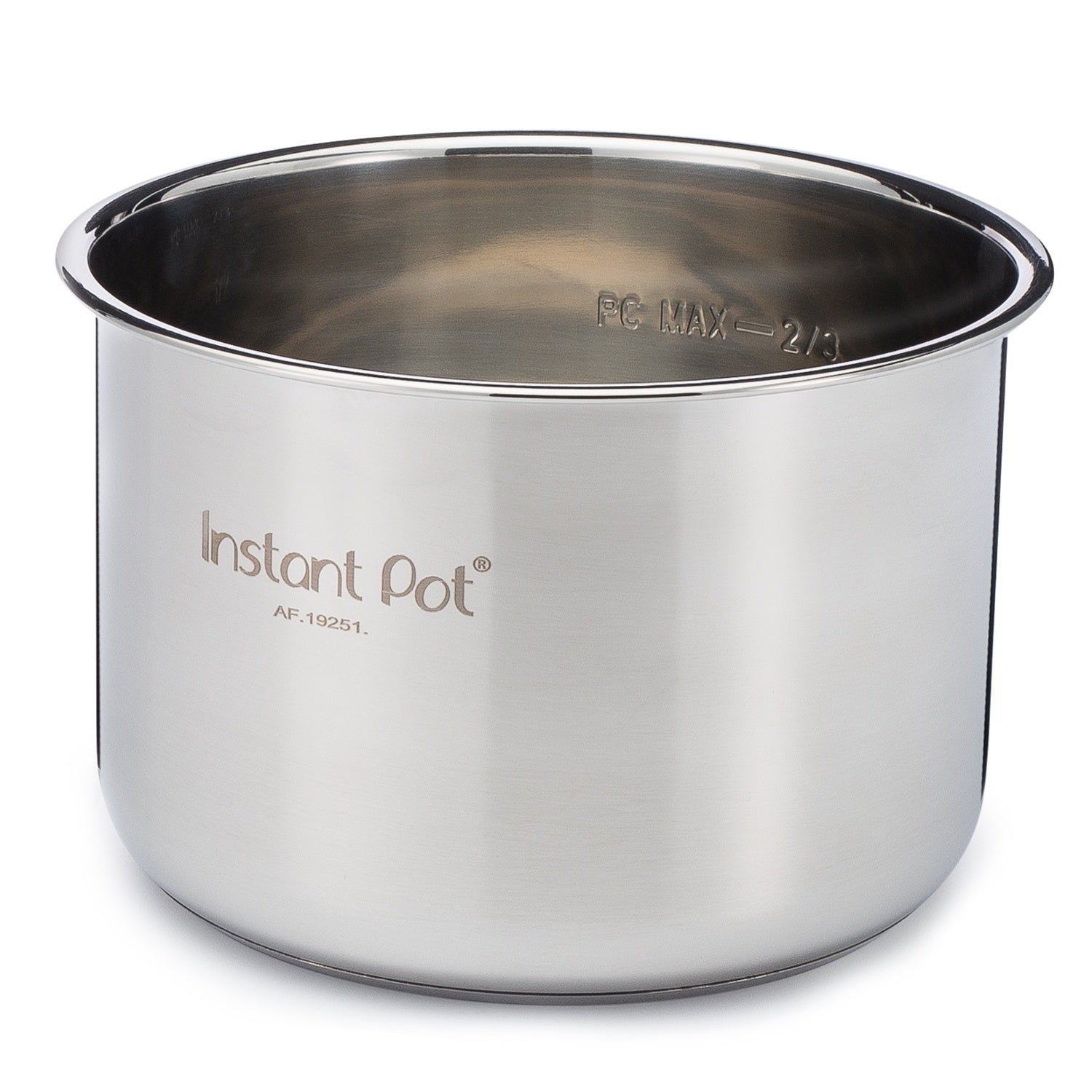 Instant Pot Accessories-3L Mini Stainless Steel Inner Pot-212-0001-01