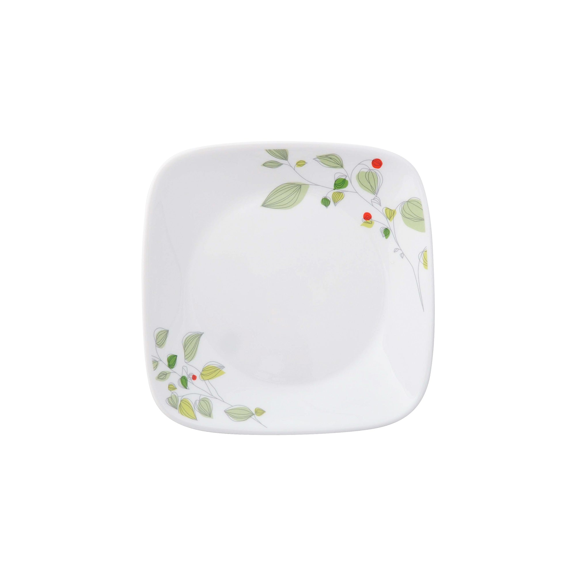 Corelle Deluxe Square Garden Breeze 16.5cm Bread & Butter Plate-2206-GB-LP