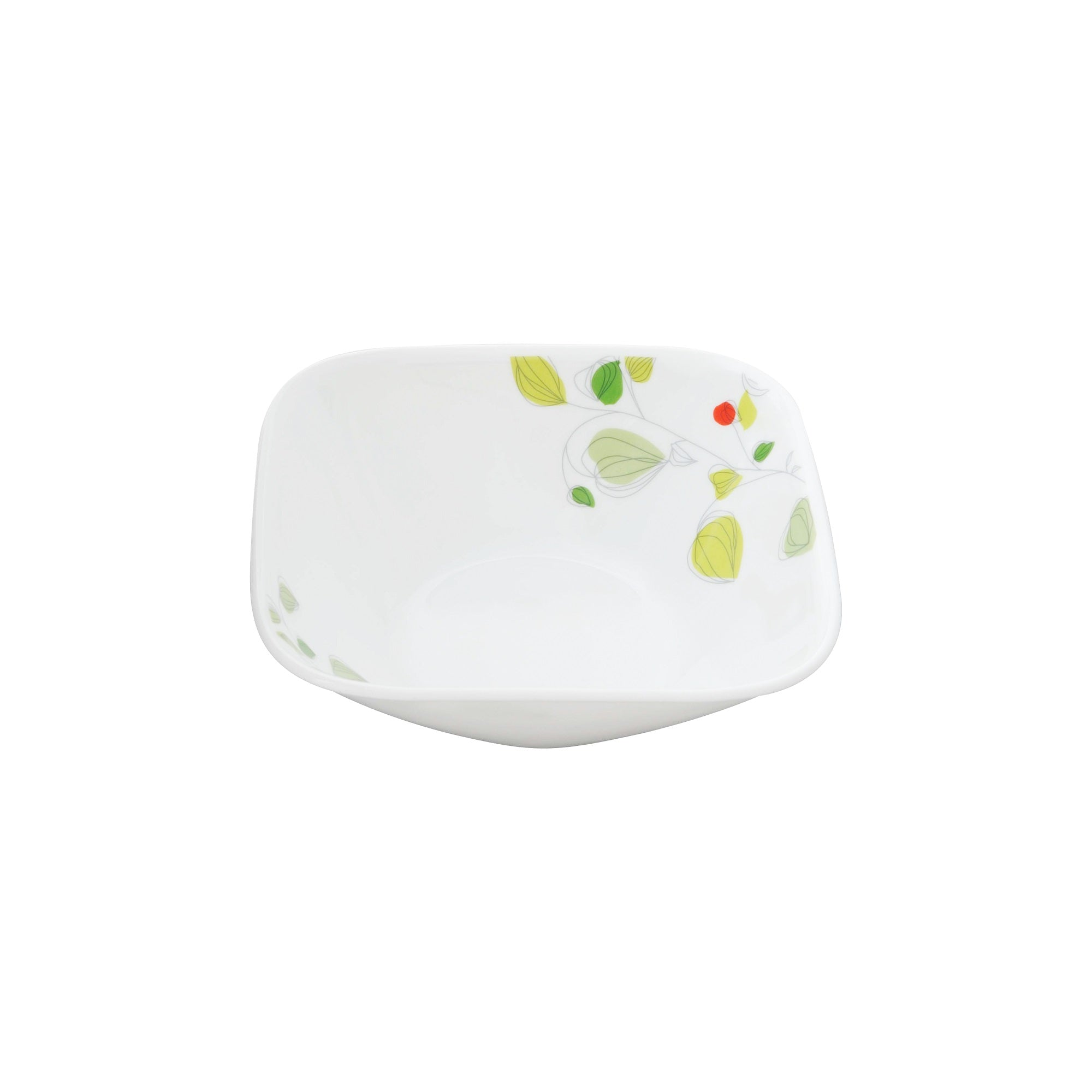 Corelle Deluxe Square Garden Breeze 680mL Soup Cereal Bowl-2323-GB-LP