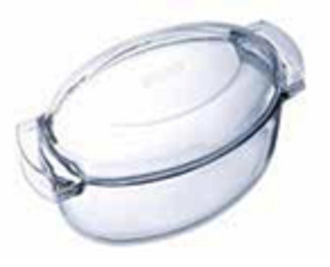 Pyrex Classic Oval Glass Covered Casserole 5.8L-1030002