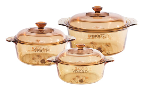 Visions 6 Piece Versa Pot Set - Daisy Field-VS-343-DSF/CL1