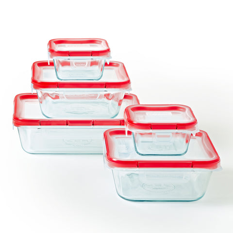 Pyrex Fresh Lock 10 Piece Set-1133097