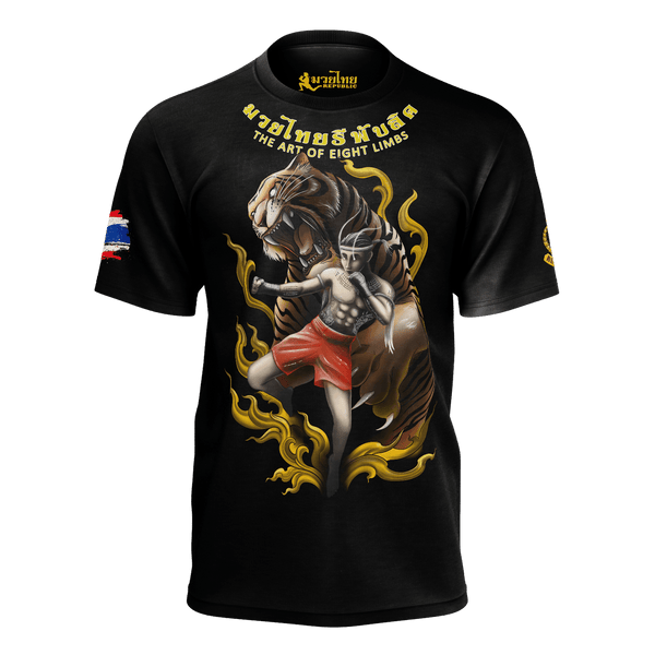 "NEW! Muay Thai Republic ""TIGER SPIRIT"" Shirt"