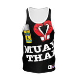 Muay Thai Republic I LOVE MT Tanktop