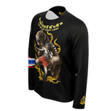 "NEW! Muay Thai Republic ""TIGER SPIRIT"" Long Sleeve Shirt"