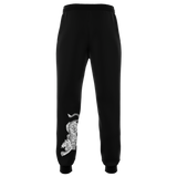 Muay Thai Republic Tiger Joggers - Black