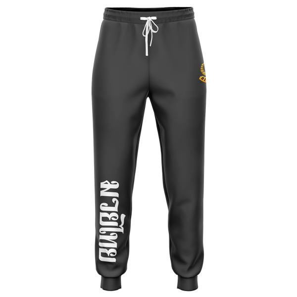 Muay Thai Republic Tiger Joggers - Dark Gray