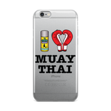 """I ❤️ MUAY THAI"" iPhone Case - Choose your iPhone model"