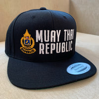 "Muay Thai Republic ""STADIUM"" Snapback Hat"