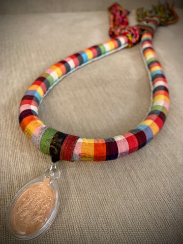 Mongkol with Sua Koo Amulet and Matching Prajiouds (Multi-Color)