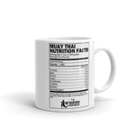 Muay Thai Nutrition Mug