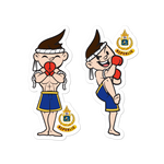 Muay Thai Republic JETHRO 2-Pack Stickers