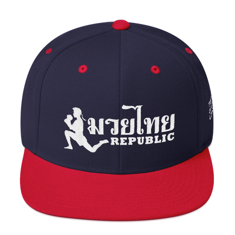 Muay Thai Republic Thai Flag Colorway Snapback Hat
