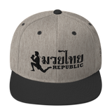 Muay Thai Republic Signature Snapback
