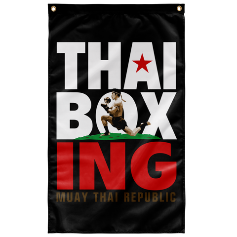 MTR Thai Boxing Flag