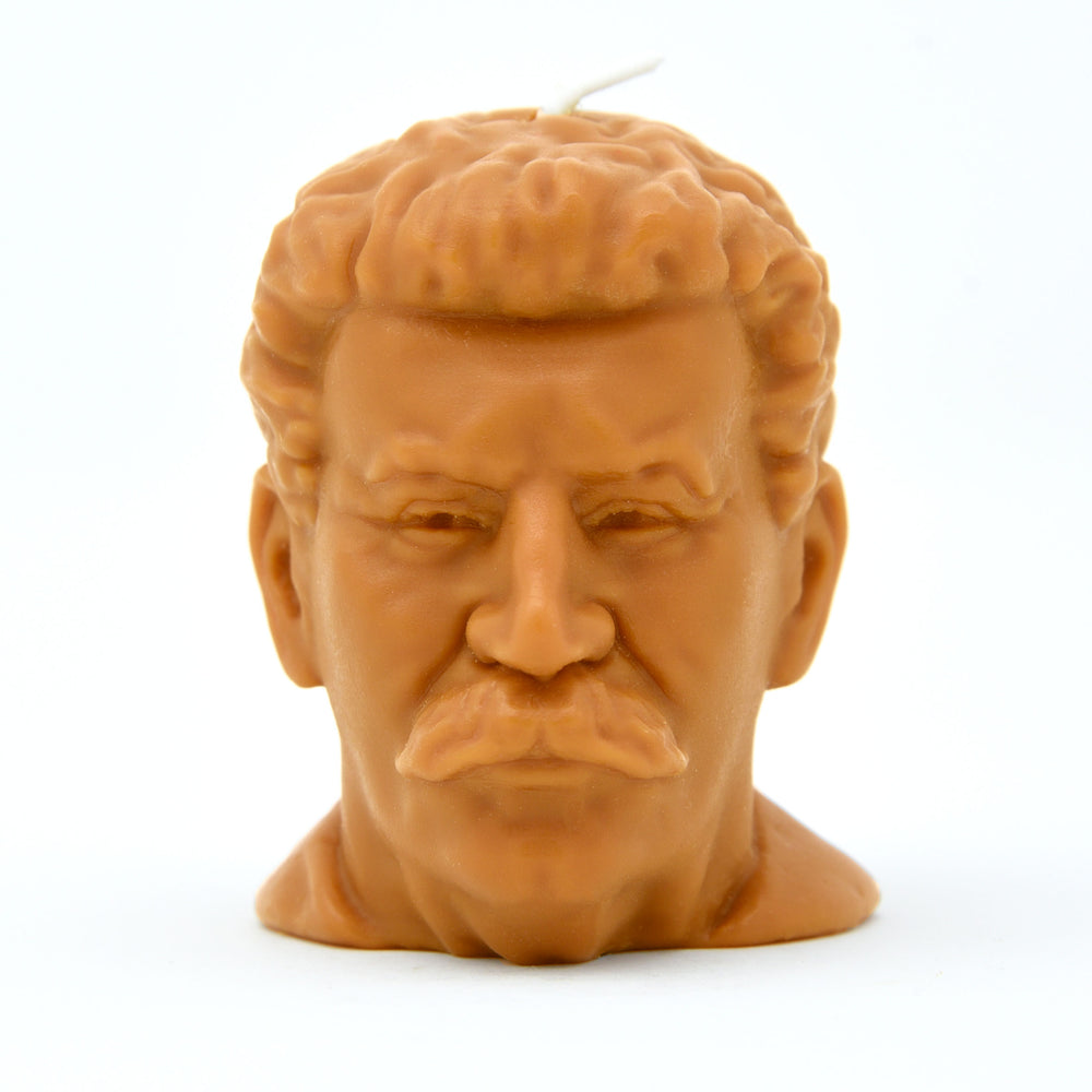 Joseph Stalin Head Candle