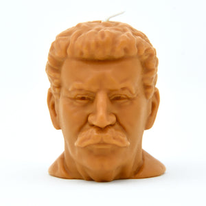 Load image into Gallery viewer, Joseph Stalin Head Candle