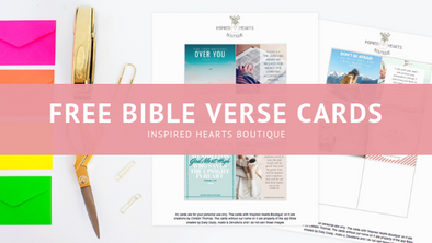 Free Bible Verse Cards Download