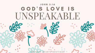 God's Love Is Unspeakable - 1/28/19 Playlist